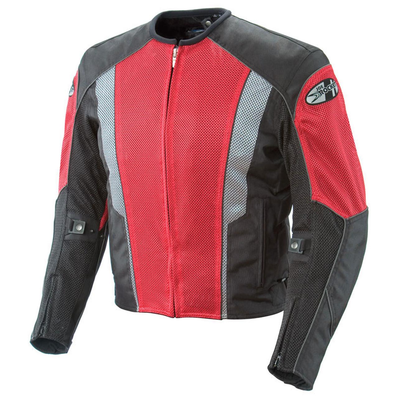 Joe Rocket Phoenix 5 0 Mesh Jacket Red Black