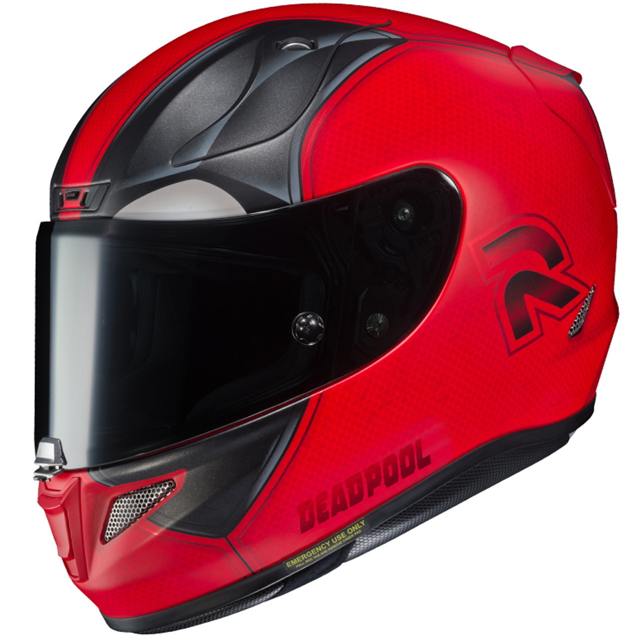 baf8c361d HJC RPHA 11 Pro Motorcycle Helmet - Marvel Deadpool II - Get Lowered Cycles