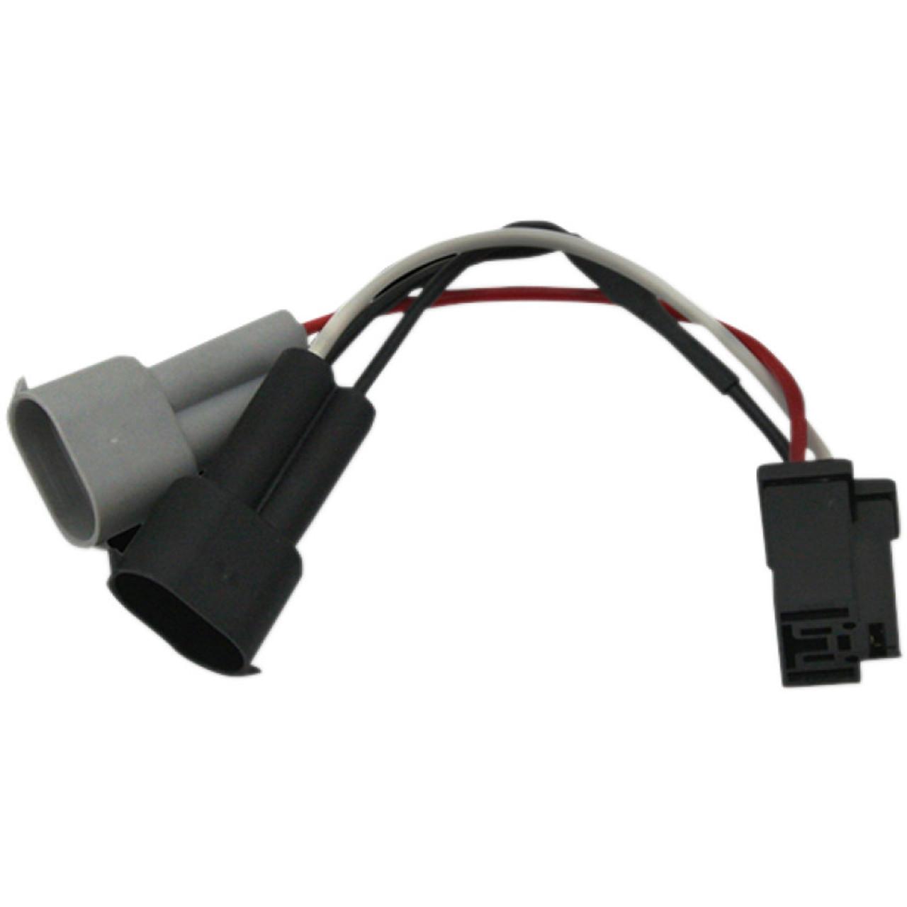 custom road king wiring harness custom dynamics led headlight adapter harness for 2014 2020 harley  custom dynamics led headlight adapter