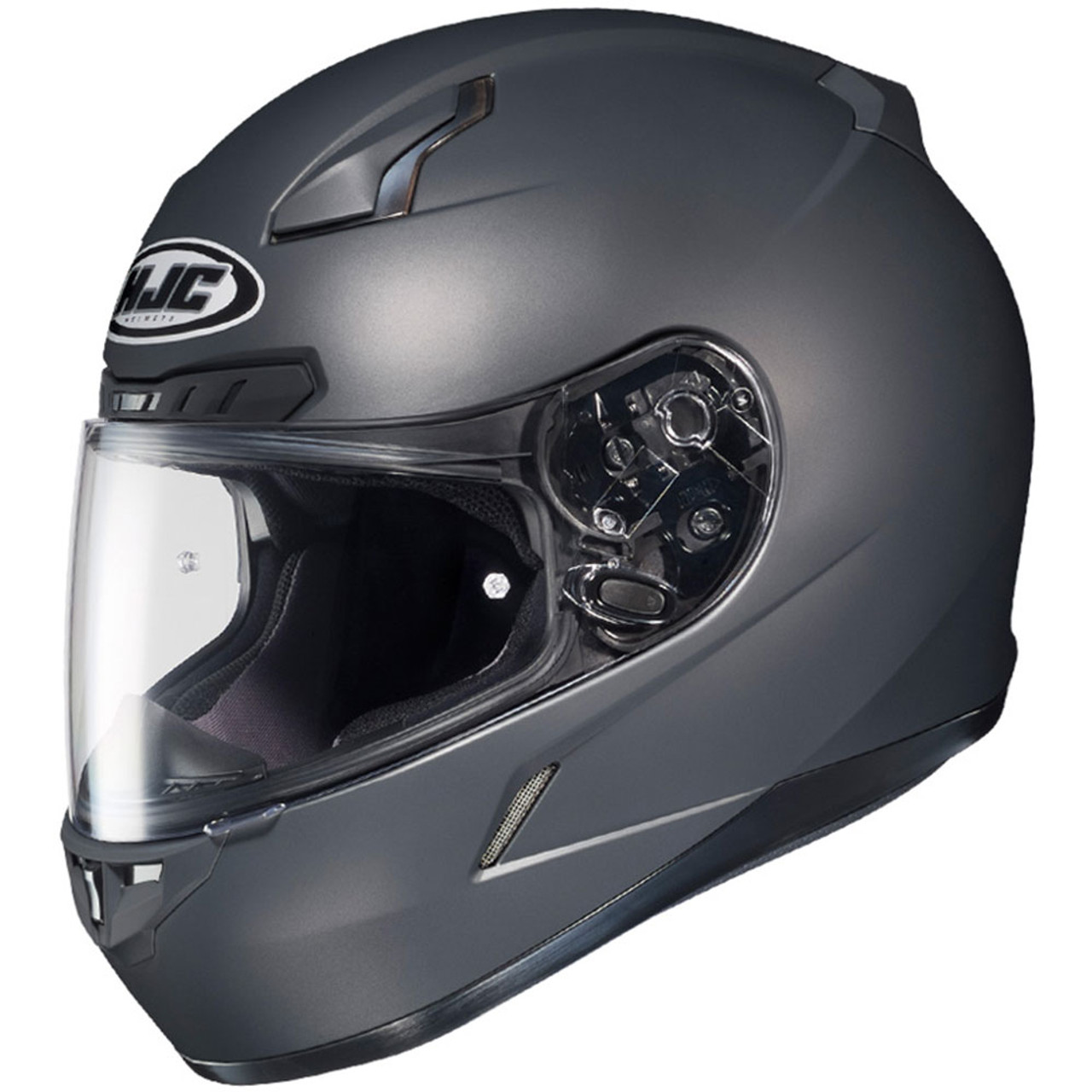 d6c429f9 HJC CL-17 Solid Matte Anthracite Helmet - Get Lowered Cycles
