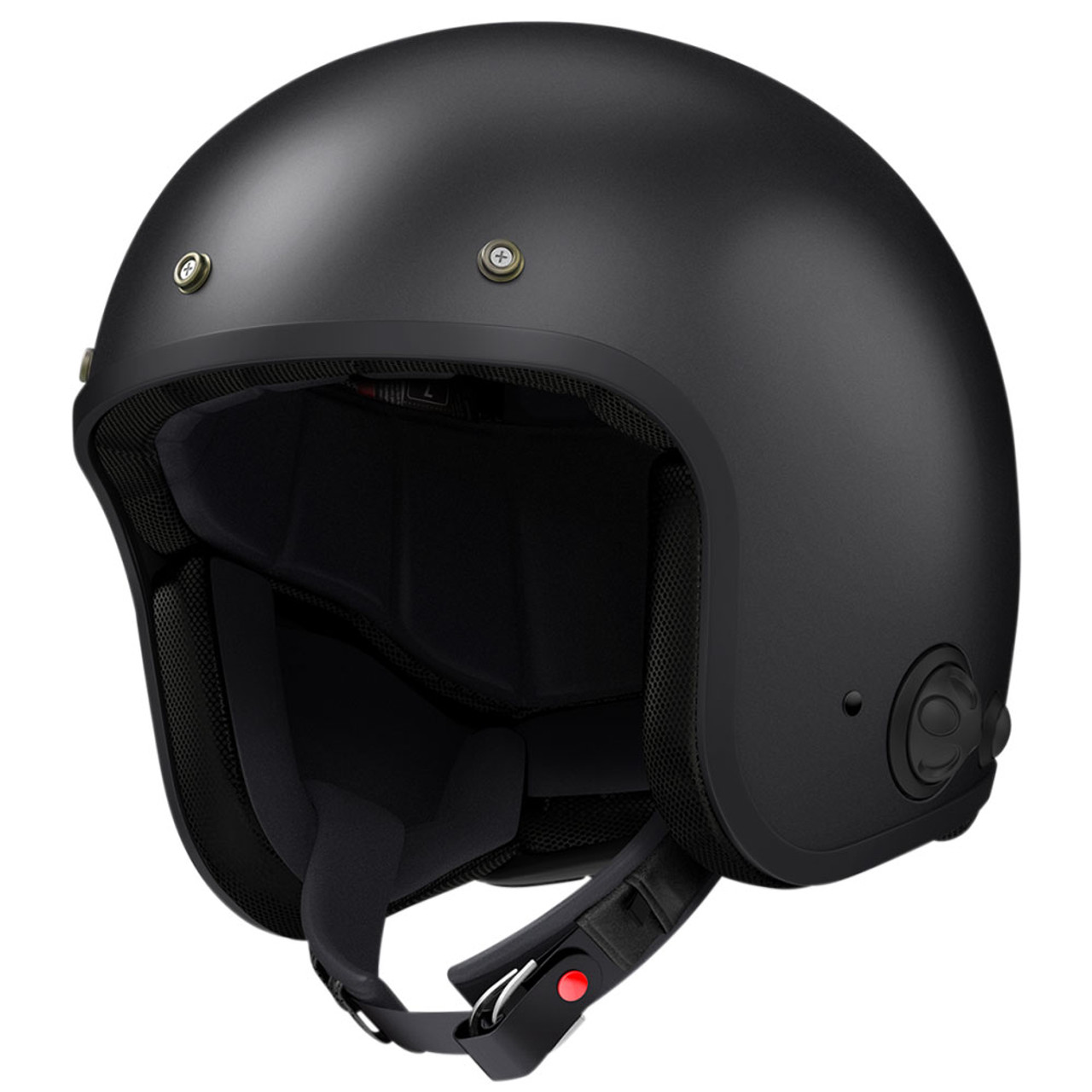 Sena Savage Black Open Face Helmet Get Lowered Cycles