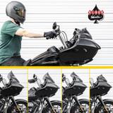 Klock Werks Windshield Comparison - 2020 Harley Road Glide