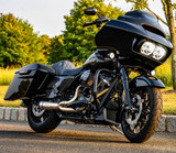 Two Brothers Racing Shorty 2-1 Turnout Exhaust - 2020 Harley Road Glide