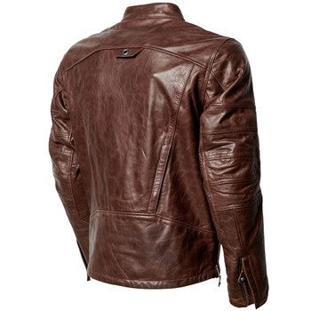 Roland Sands Ronin RS Signature Leather Jacket - Tobacco