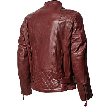 Roland Sands Clash RS Signature Leather Jacket - Oxblood