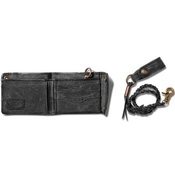 Roland Sands Lynwood Wallet - Black