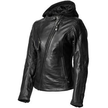 Roland Sands Women's MIA Leather Jacket - Black
