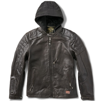 Roland Sands Jagger Leather Jacket - Tobacco Brown