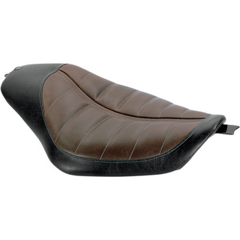 Roland Sands Enzo Bob Job Seat for 2004-2006/2010-2018 Harley Sportster - Brown