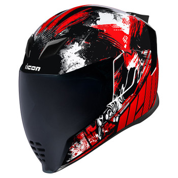 Icon Airflite Helmet - STIM Red
