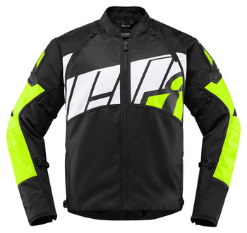 Icon AutoMag2 Jacket - Hi Viz