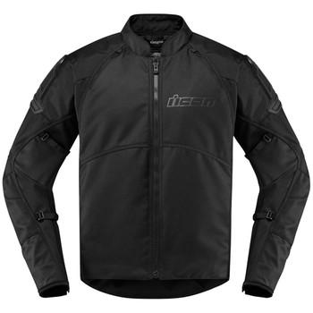 Icon AutoMag2 Stealth Black Jacket