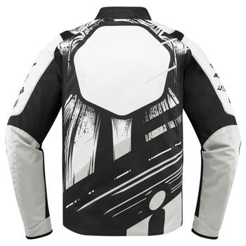 Icon Overlord STIM Jacket - White
