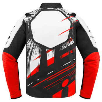 Icon Overlord STIM Jacket - Red