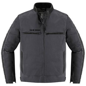Icon 1000 MH 1000 Textile/Leather Jacket - Black