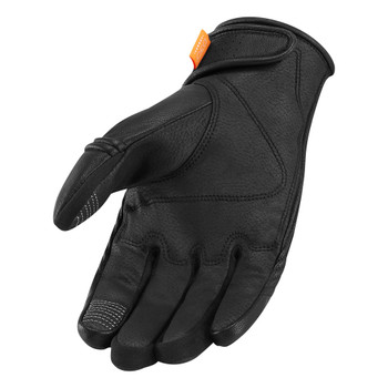 Icon Automag Gloves - Black