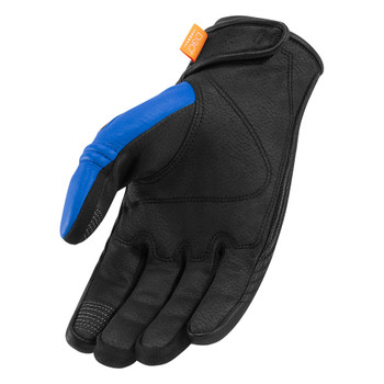 Icon Automag Gloves - Blue