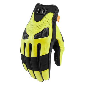 Icon Automag Gloves - Hi-Viz