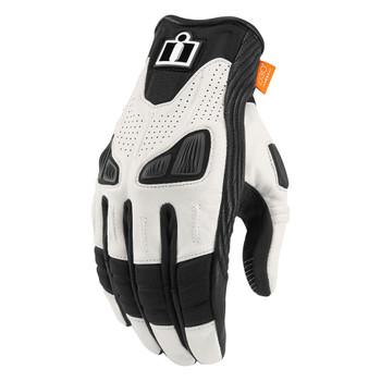 Icon Automag Gloves - White