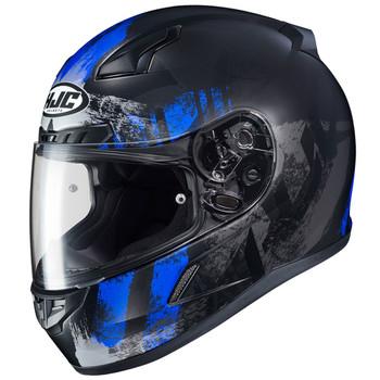 HJC CL-17 Arica Helmet - Black/Blue