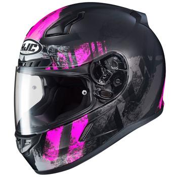 HJC CL-17 Arica Helmet - Black/Pink