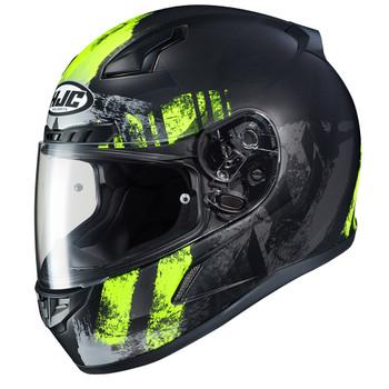 HJC CL-17 Arica Helmet - Black/Hi-Viz Yellow