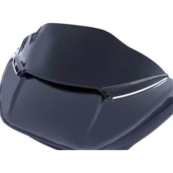 Ciro Horizon LED  Windshield Trim for 2015-2020 Harley Road Glide - Black