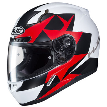 HJC CL-17 Ragua Helmet - White/Red/Black