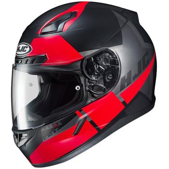 HJC CL-17 Boost Helmet - Matte Black/Red