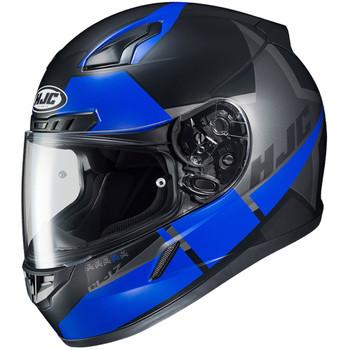 HJC CL-17 Boost Helmet - Matte Black/Blue