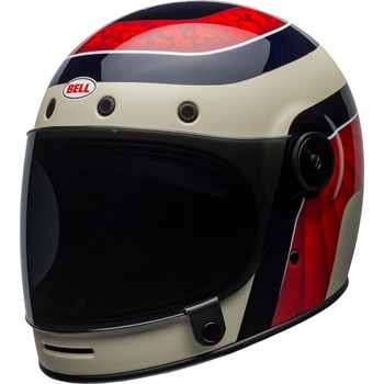Bell Bullitt Carbon Hustle Matte/Gloss Red/Sand/Candy Blue Helmet