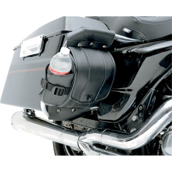 Saddlemen Cruis'N Deluxe Saddlebag Guard Bag Set for 1995-2020 Harley Touring OEM Saddlebag Guard