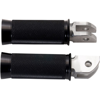 Speed Merchant Cruiser Pegs Foot Pegs for 2018 Harley Softail - Black