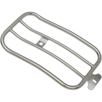 "Motherwell 7"" Solo Luggage Rack for 2007-2017 Harley Fat Boy* - Chrome"