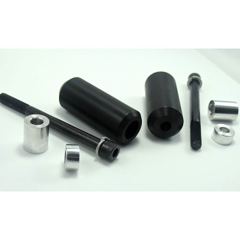Bung King Upper Shock Mount Frame Sliders for Harley Dyna/Sportster/FXR