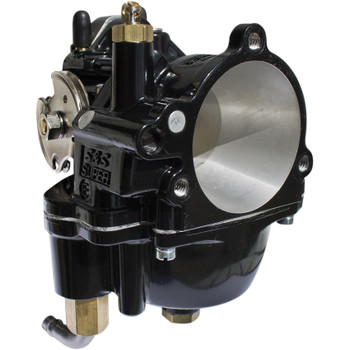 S&S Super E Carburetor for Harley - Black