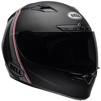 Bell Qualifier DLX Illusion MIPS Helmet - Matte/Gloss Black/Silver/White