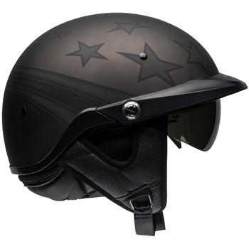 Bell Pit Boss Honor Matte Titanium/Black Helmet
