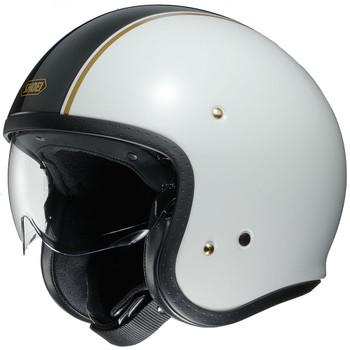 Shoei J.O. Helmet - White Carburetor TC-6