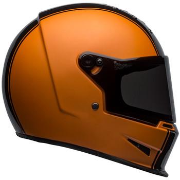 Bell Eliminator Rally Matte/Gloss Black/Orange Helmet
