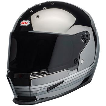 Bell Eliminator Spectrum Matte Black/Chrome Helmet