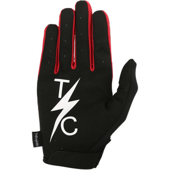 Thrashin Supply Stealth Gloves - Black/Red