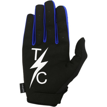 Thrashin Supply Stealth Gloves - Black/Blue