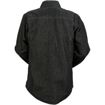 Z1R Black Denim Shirt