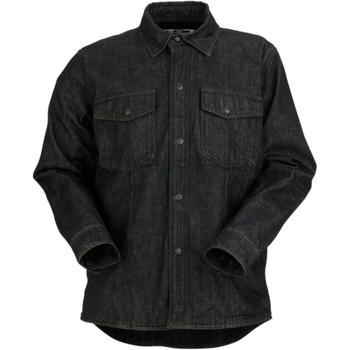 Z1R Black Denim Shirt