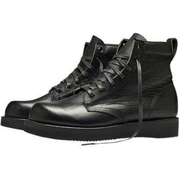 Broken Homme James Leather Boots - Black