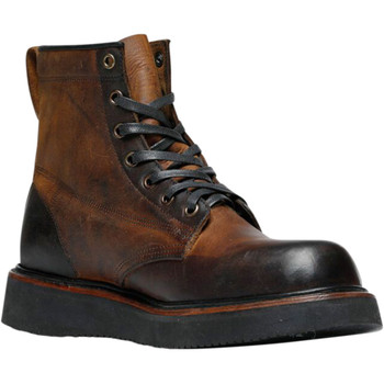 Broken Homme James Leather Boots - Brown Trail Polished