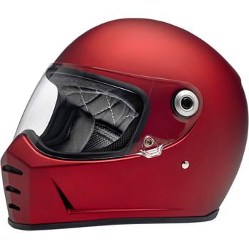 Biltwell Lane Splitter Helmet - Flat Red