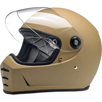 Biltwell Lane Splitter Helmet - Flat Coyote Tan