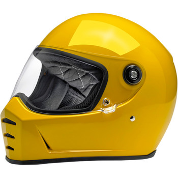 Biltwell Lane Splitter Helmet - Gloss Yellow